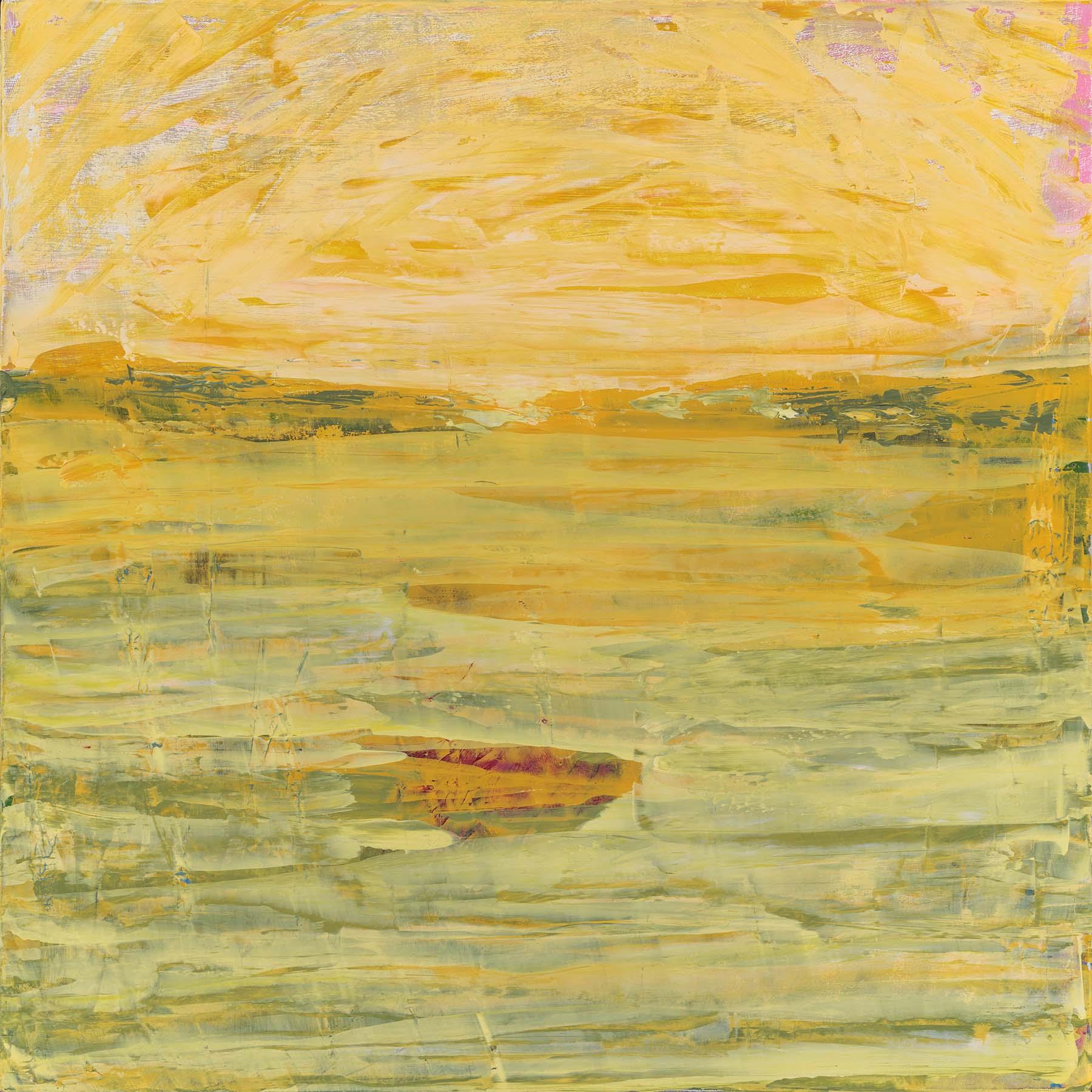 *Yellow Sea, 18 x 18