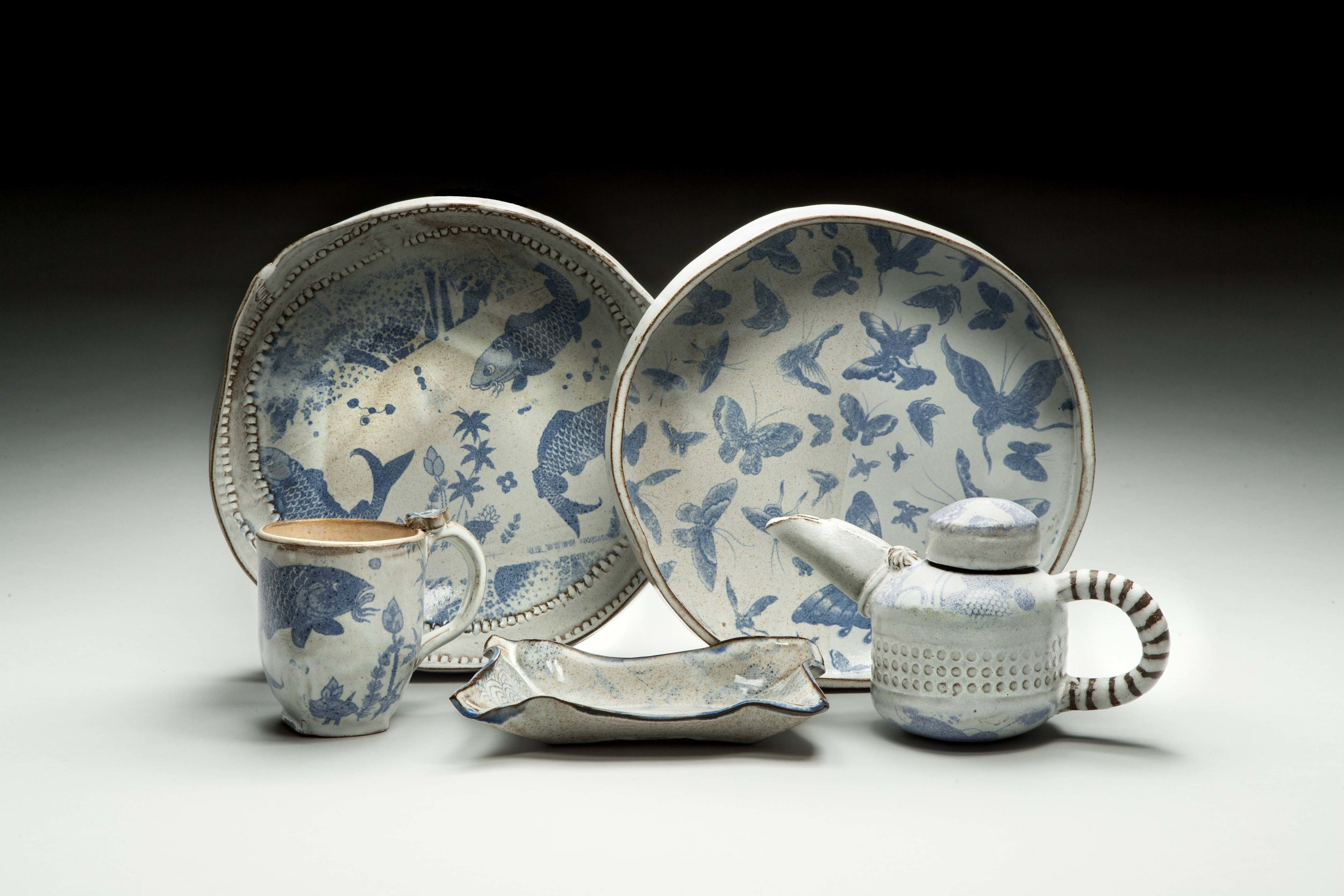 Bowls, Teapots and Cups