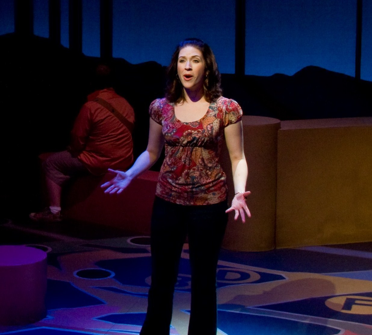 As Claire in Ordinary Days at PA Centre Stage
