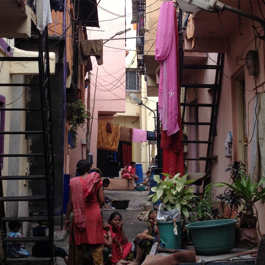 In-Situ Slum Upgrading, BSUP Project (Yerwada, India)