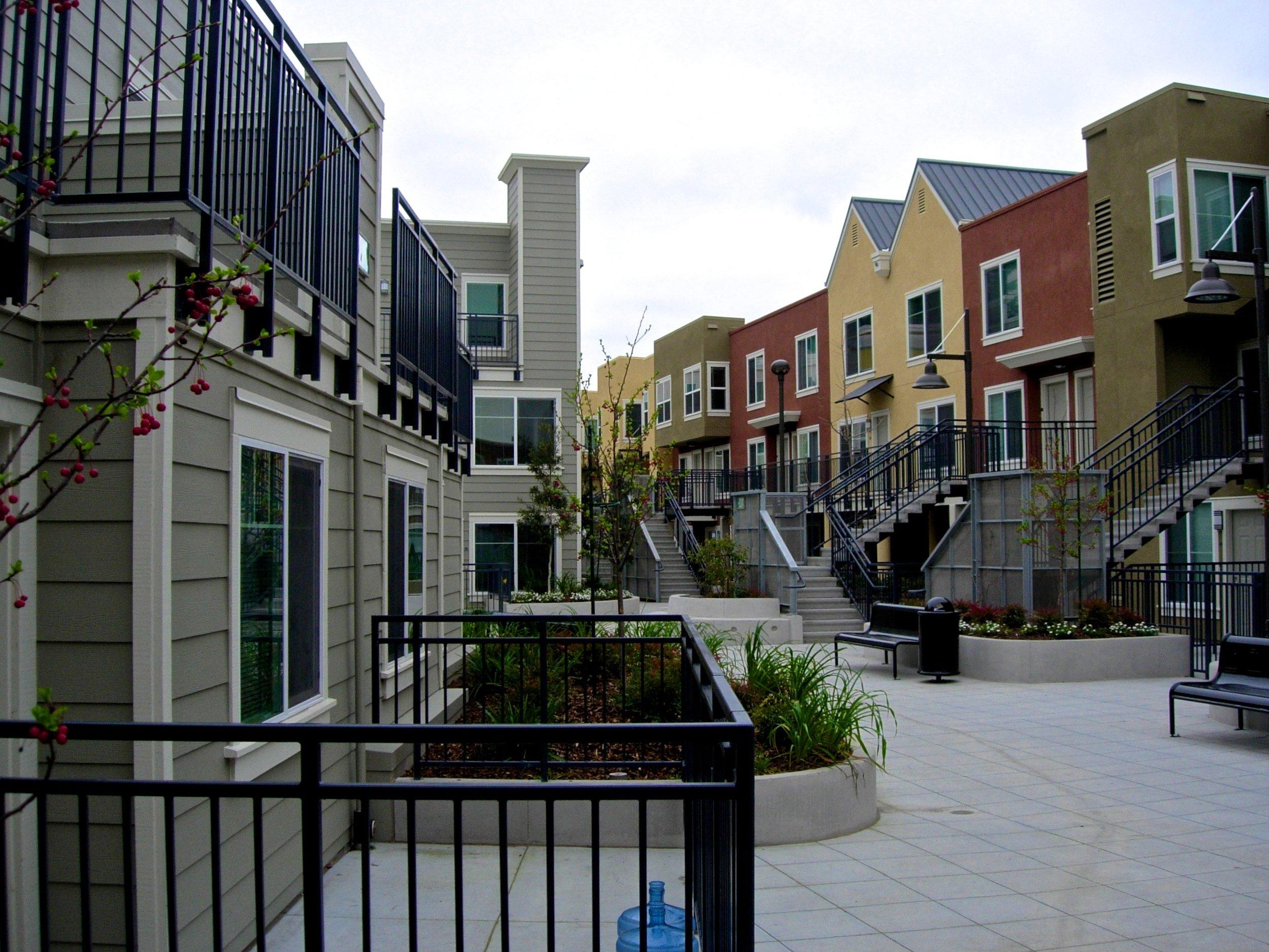 North Beach Place Housing - San Francisco, California, USA