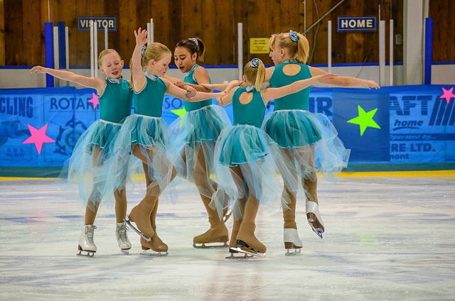 Advance CanSkaters performing at our year end show