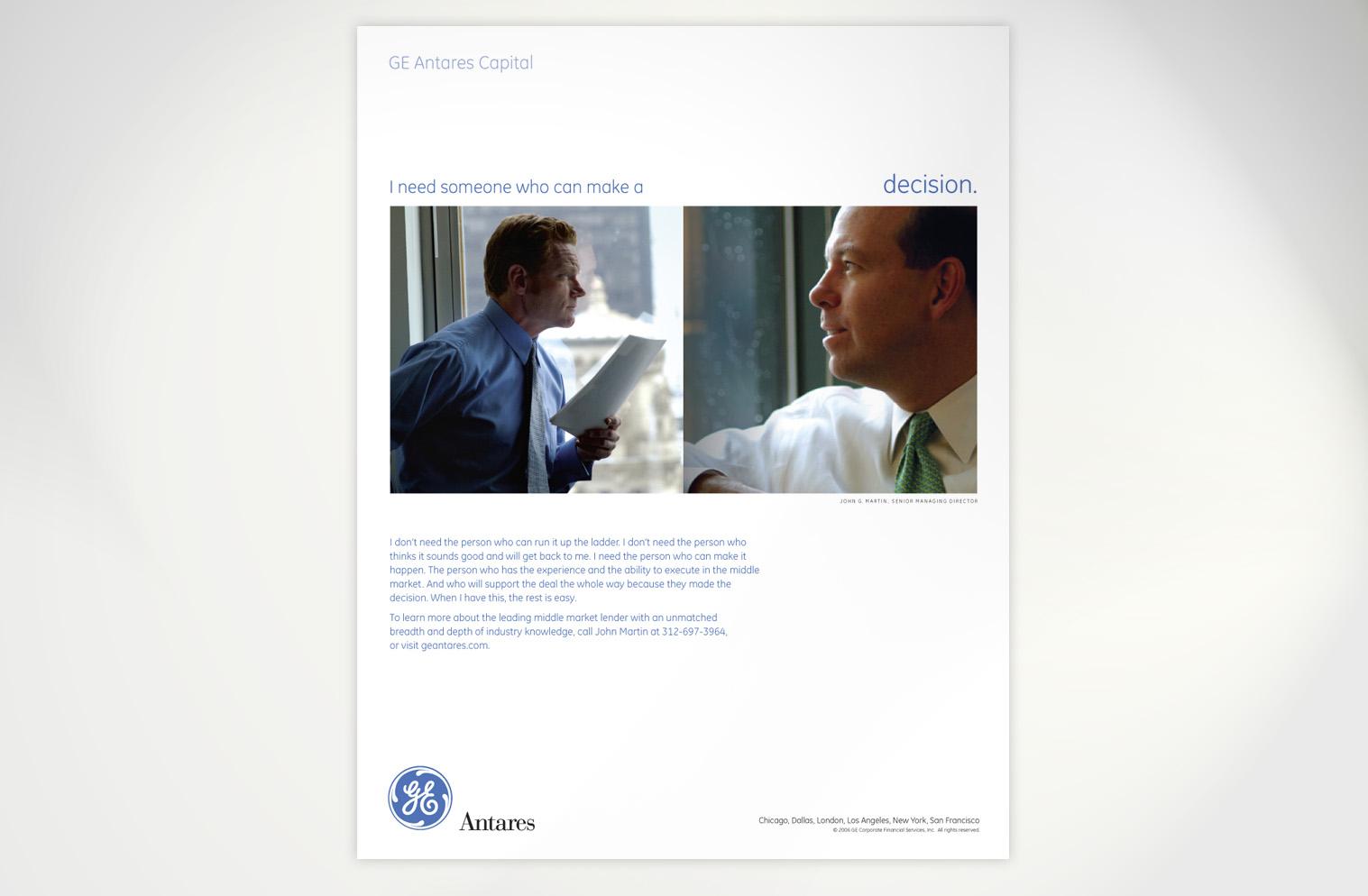 GE Antares / Advertising