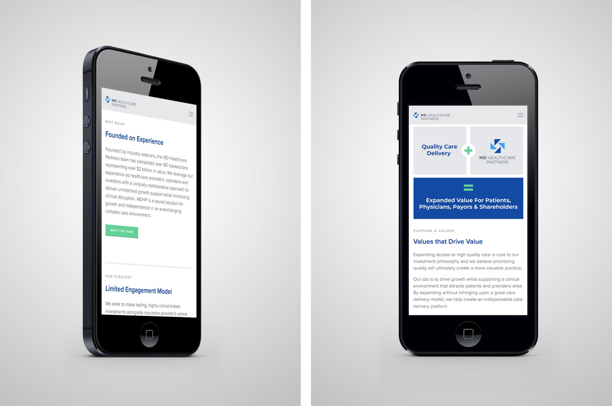 Website (mobile)