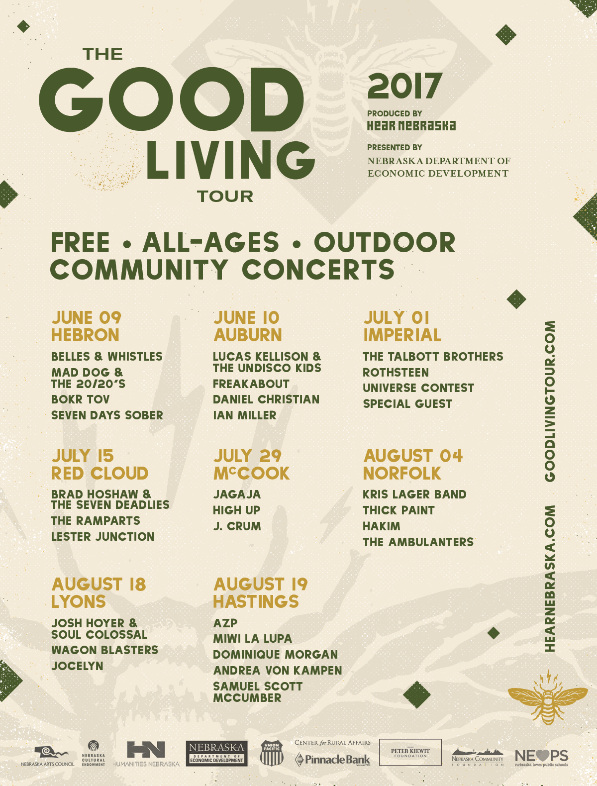 SolFest: Hastings - Good Living Tour 2017