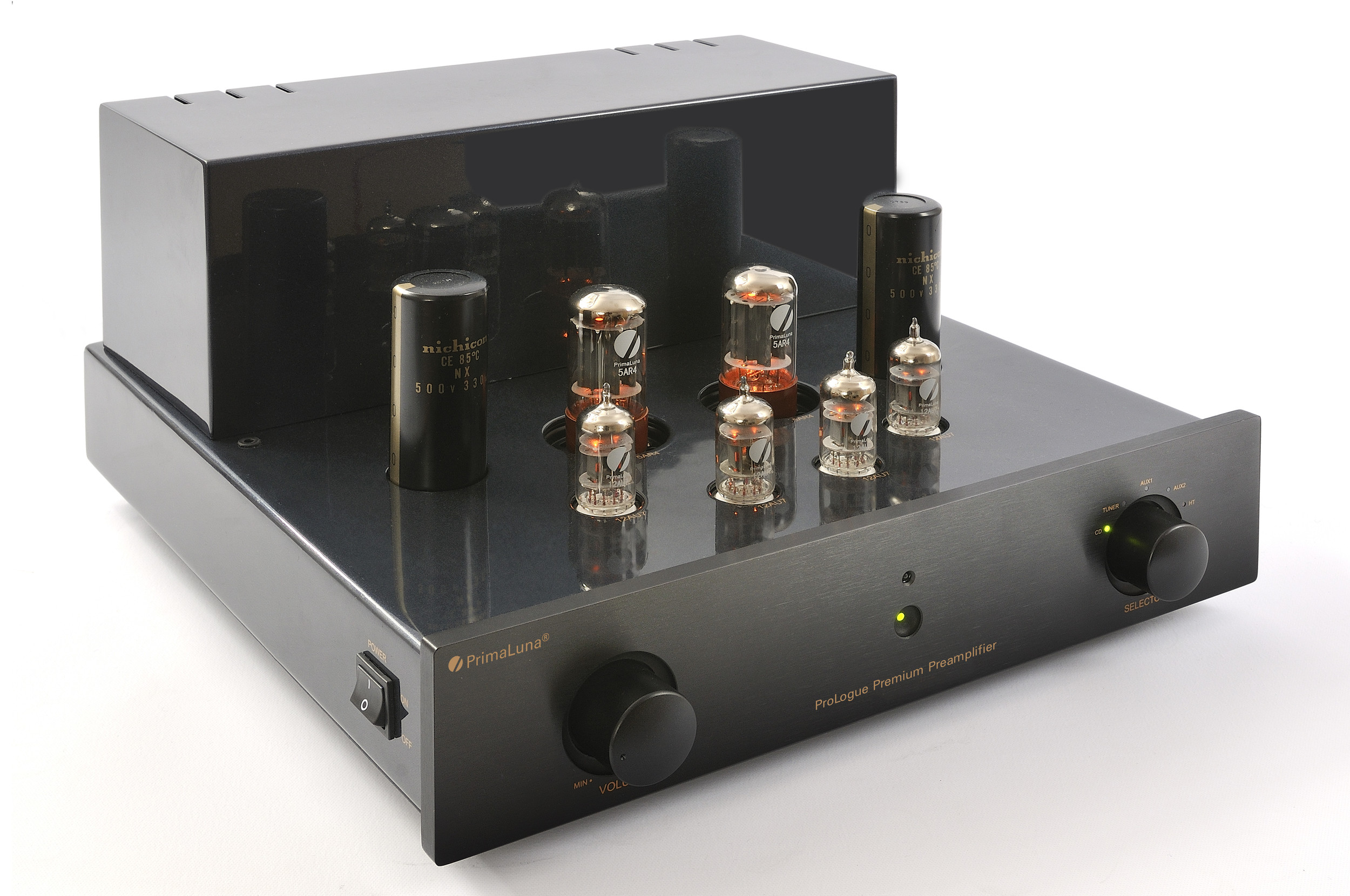 ProLogue Premium Preamplifier - black - front, side with no cover - HR - JPG.jpg