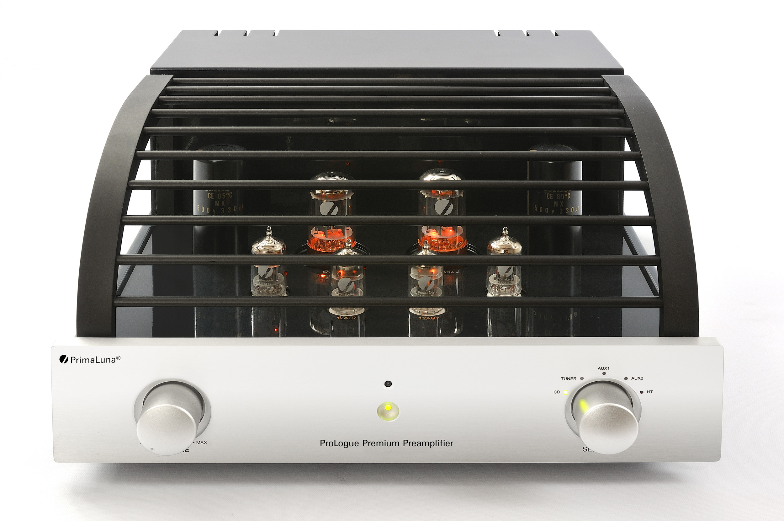 Prologue Premium Preamplifier - silver - front with cover - HR - JPG.jpg
