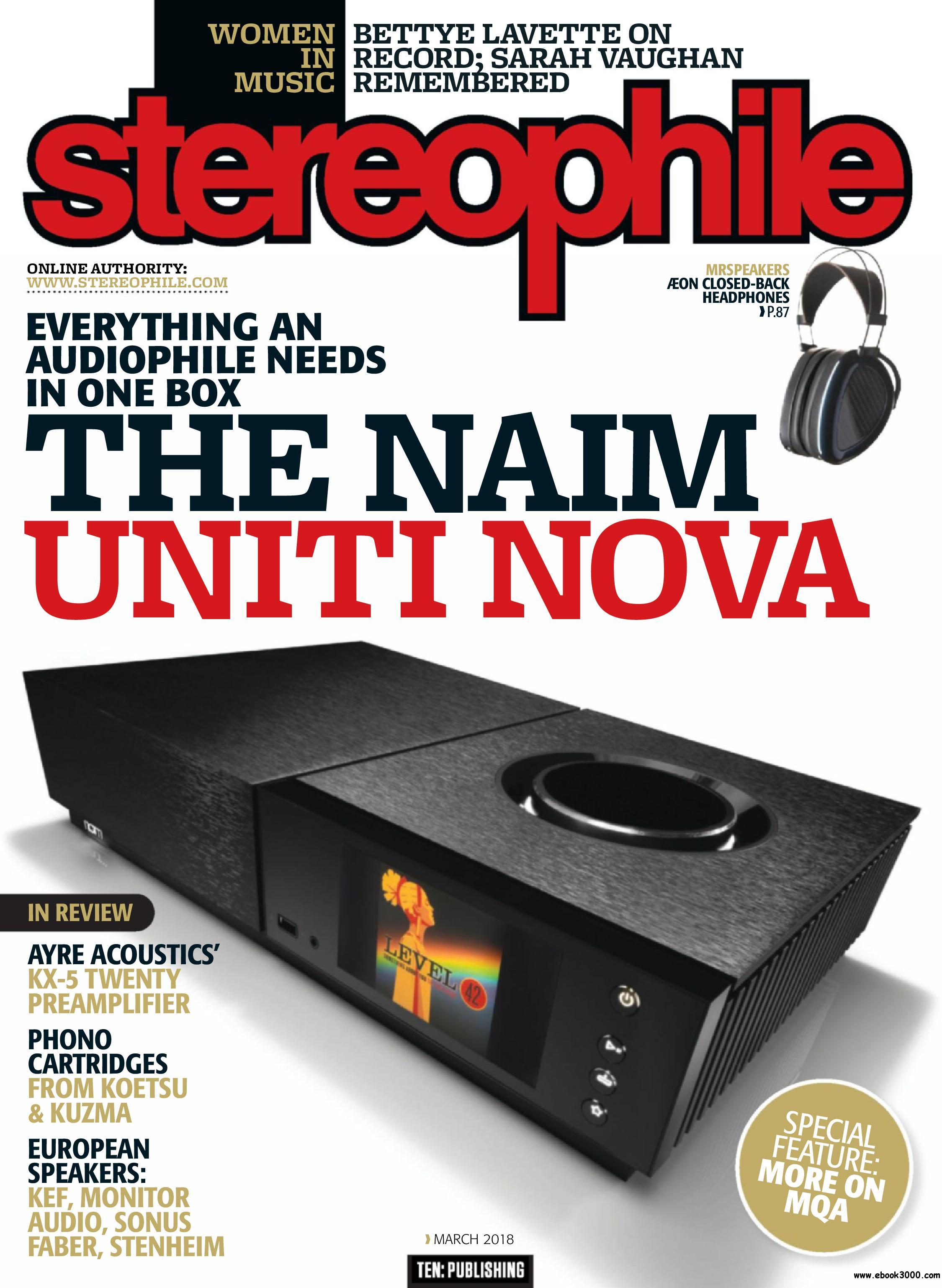 Stereophile - March 2018.jpg