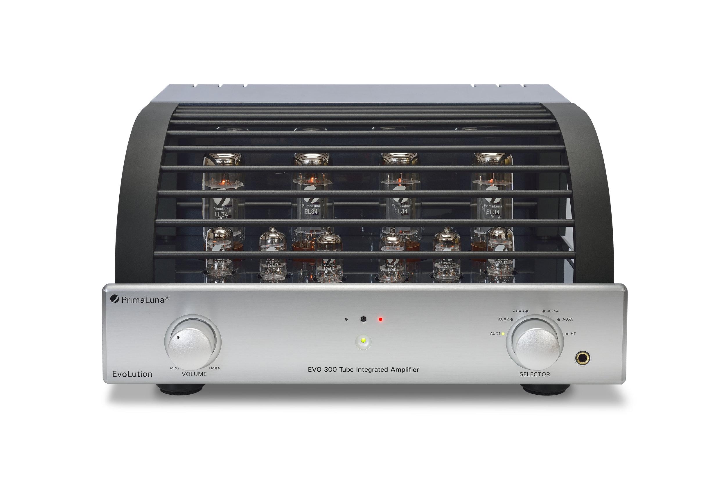 042b - PrimaLuna Evo 300 Tube Integrated Amplifier - silver - white background - kopie.jpg