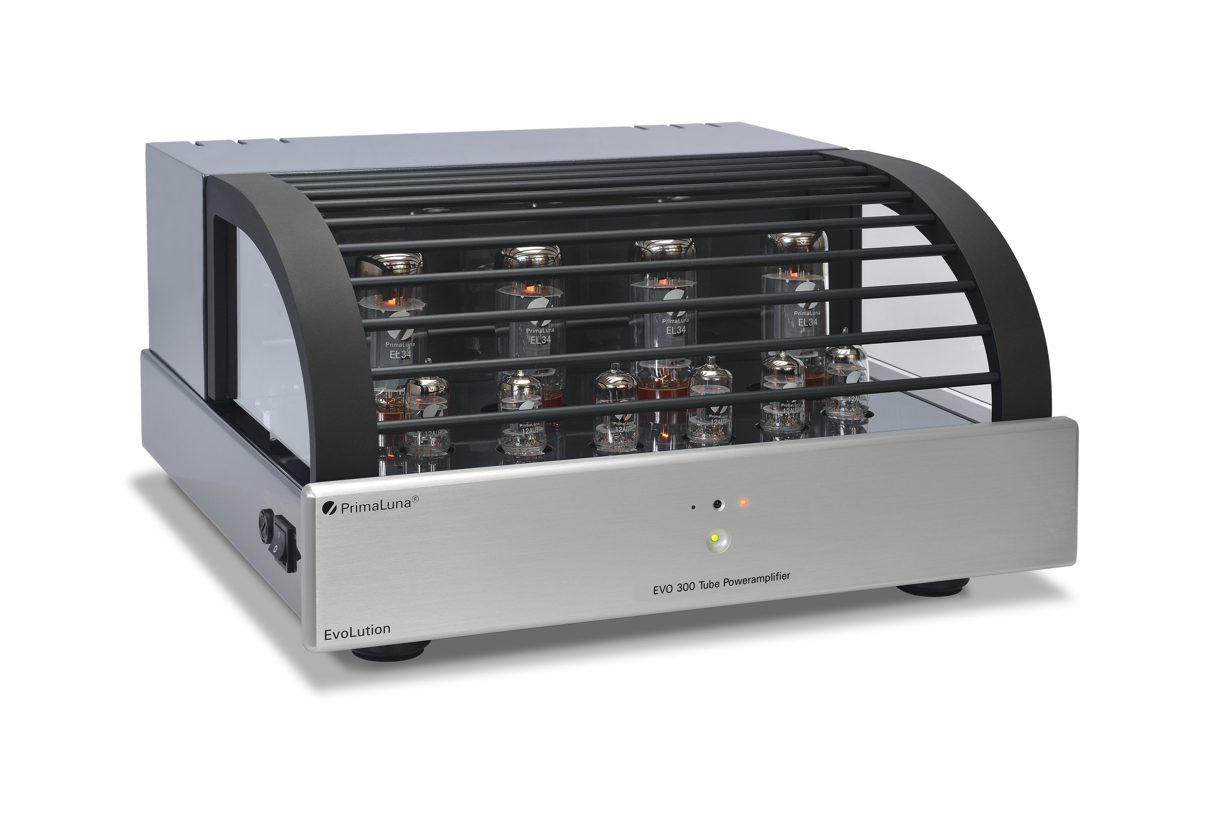 035b - PrimaLuna Evo 300 Tube Poweramplifier - silver - slanted - white background.jpg