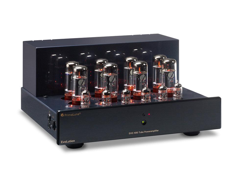 PrimaLuna Evo 400 Tube Power Amplifier — PrimaLuna USA