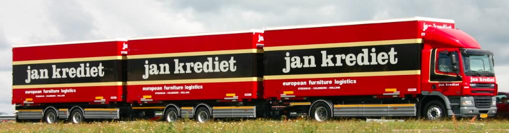 Roadtrain - wisselsysteem met drie laadruimtes
