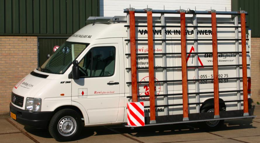 Glasrestelen mercedes bedrijfswagen