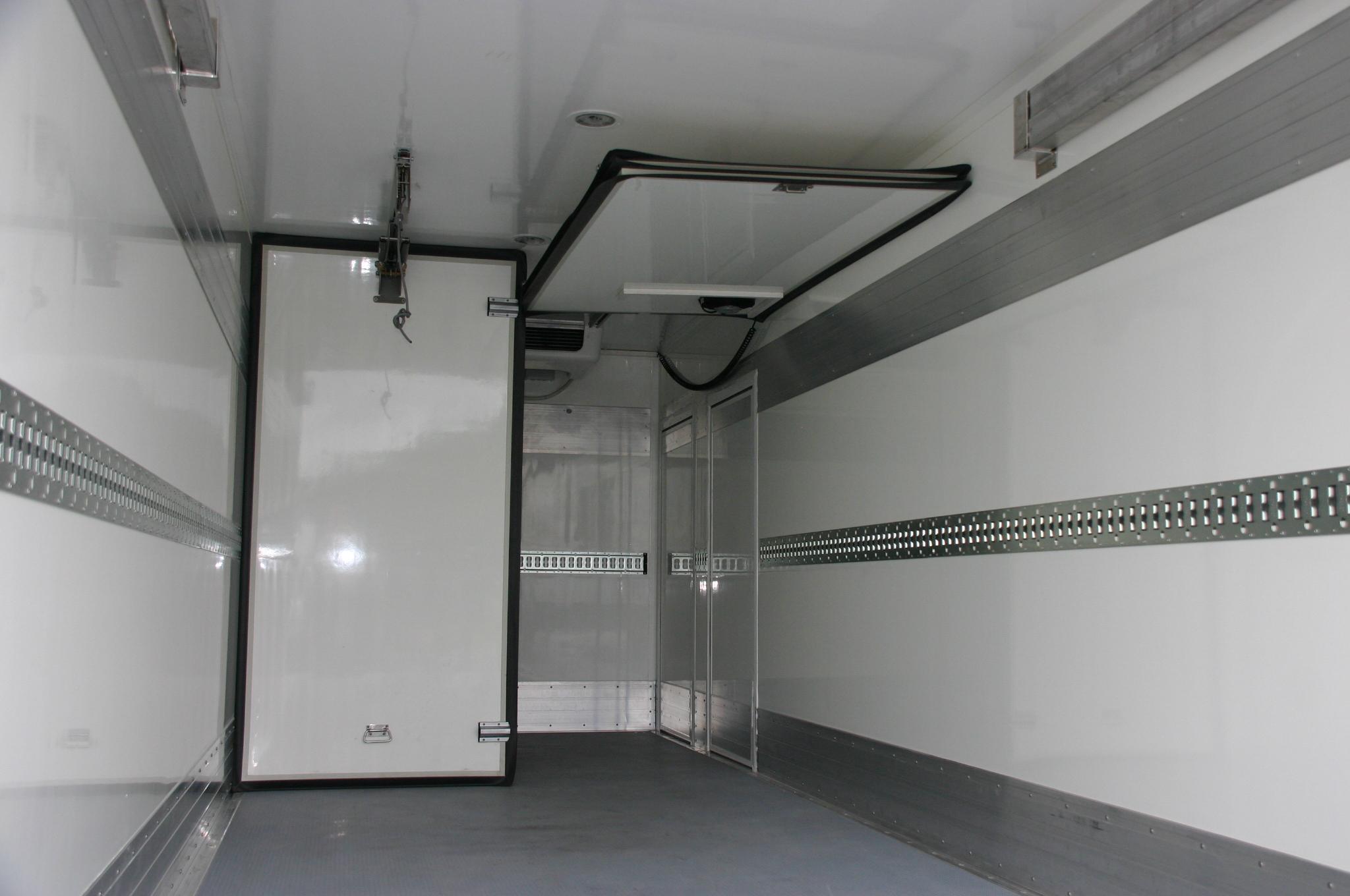 Binnenzijde koelwagen