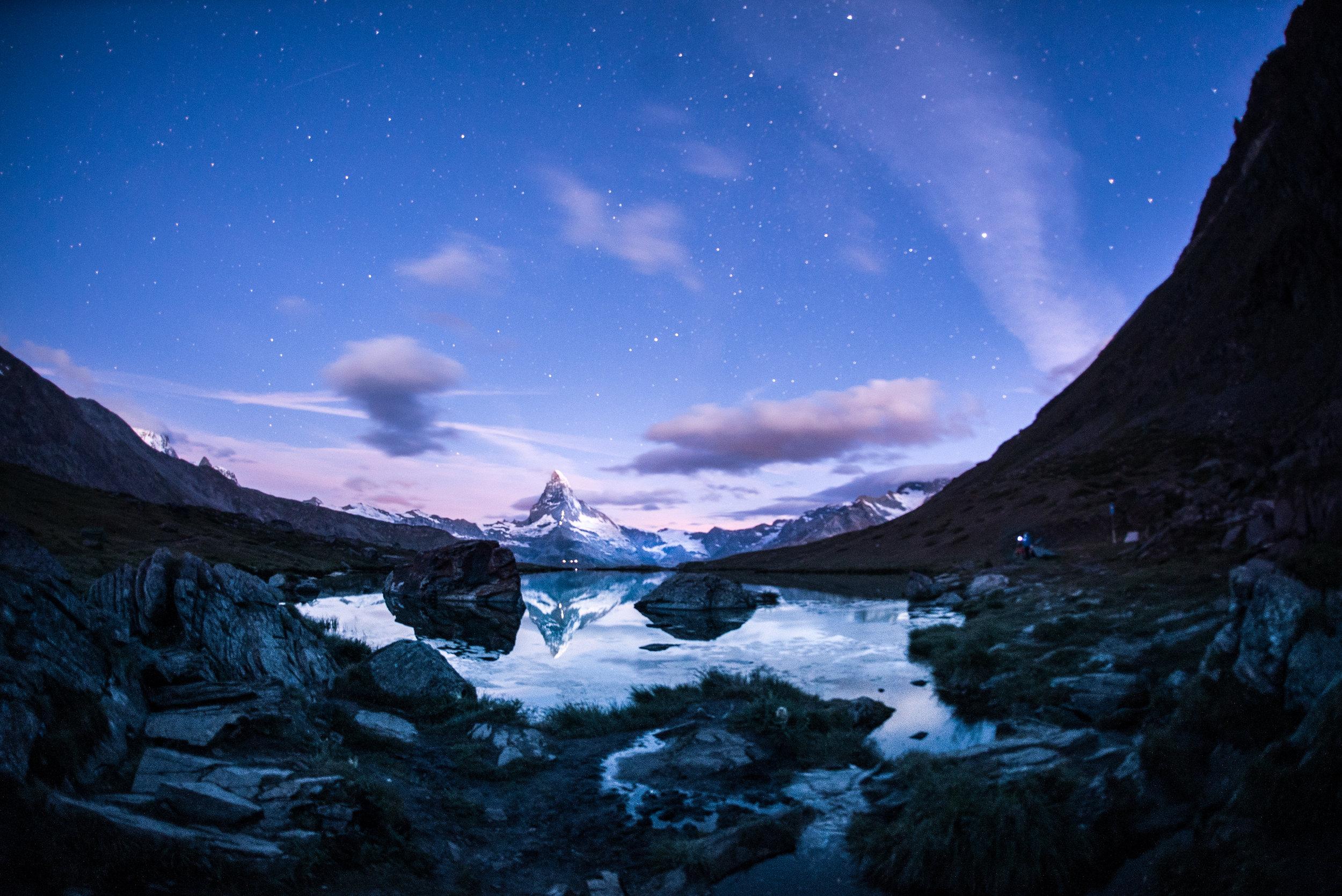 Stellisee (Zermatt) – 5 AM