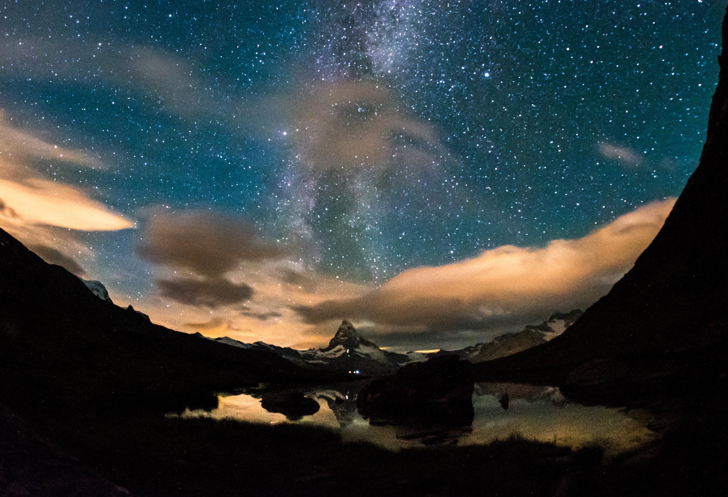 Stellisee (Zermatt) – 3 AM