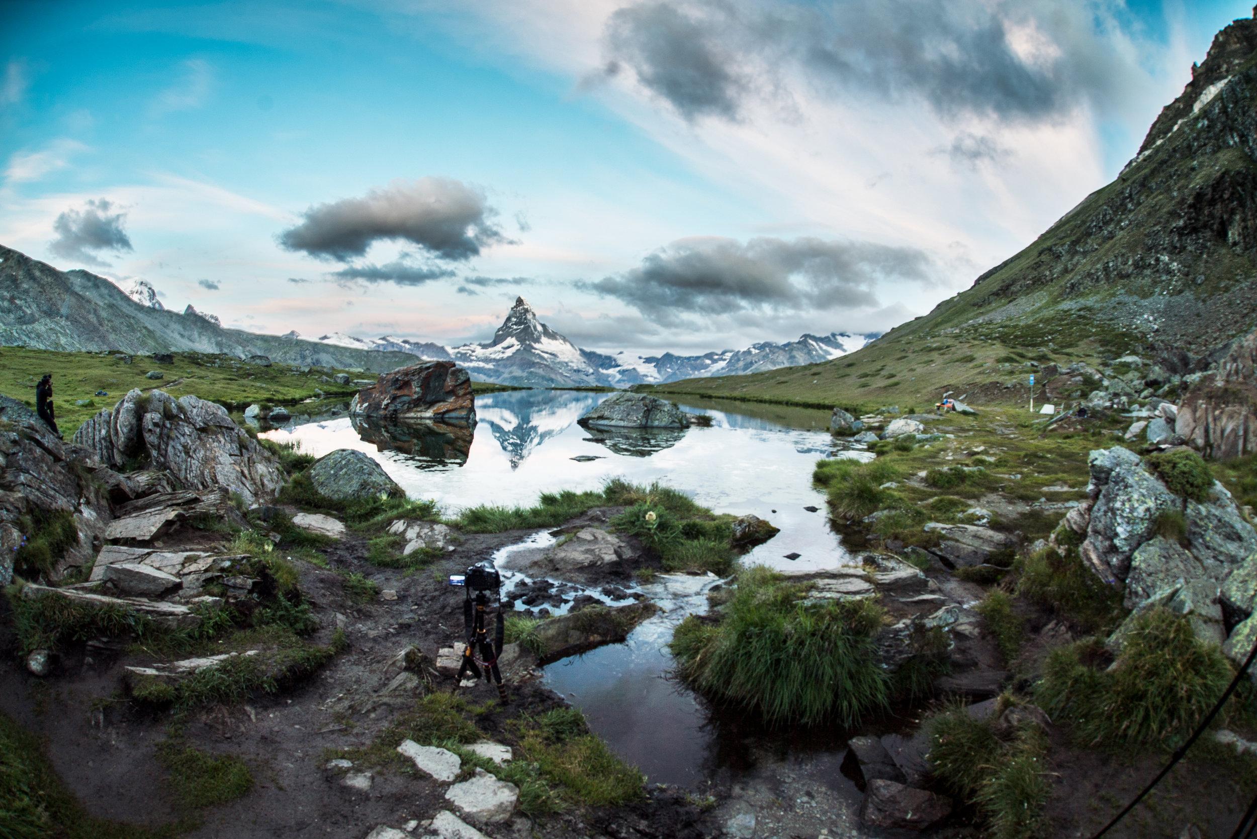 Stellisee (Zermatt) – 7 AM