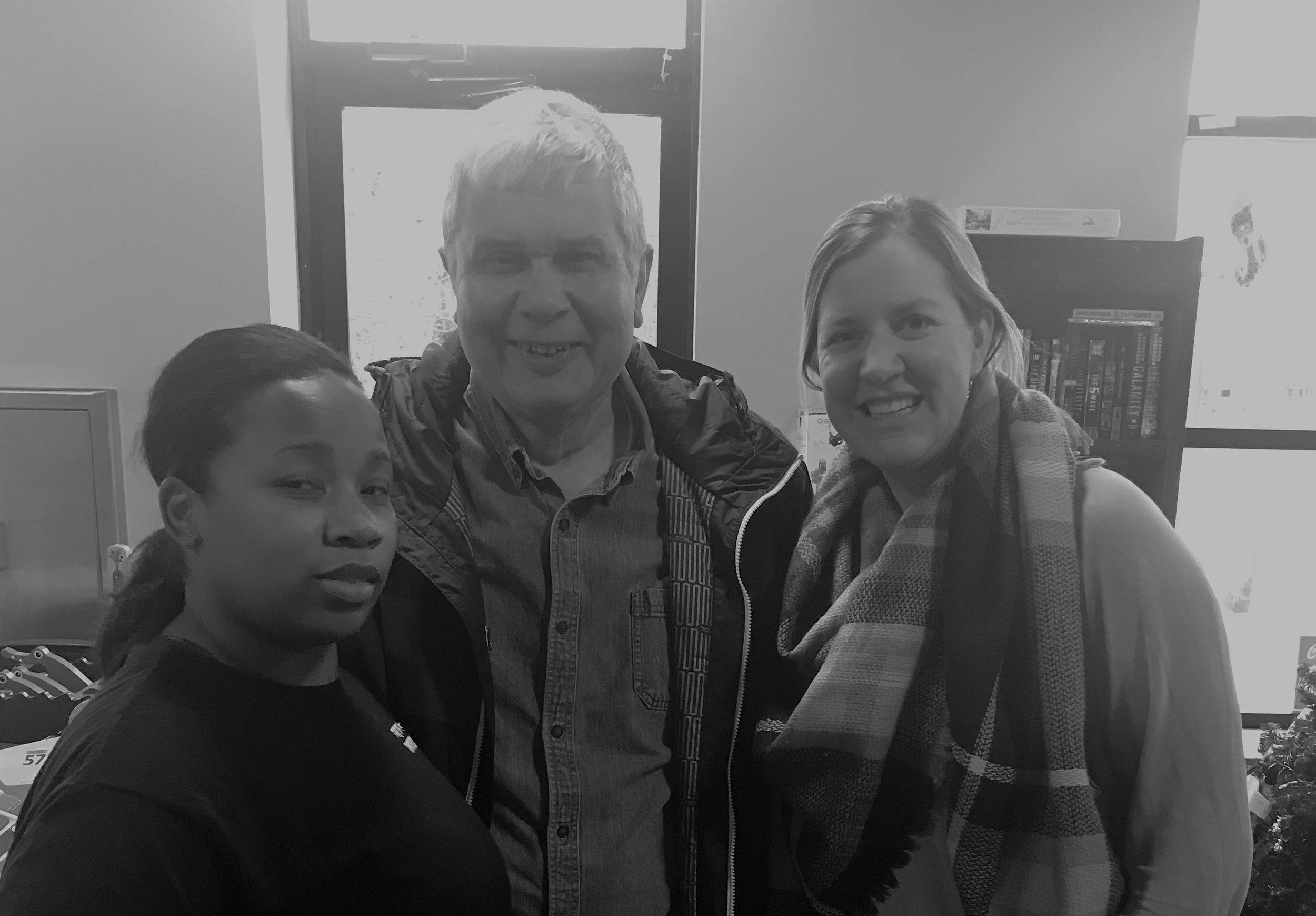 Monica Wade  (left), Kim Forney (center),  Kim Dann-Messier  (right)