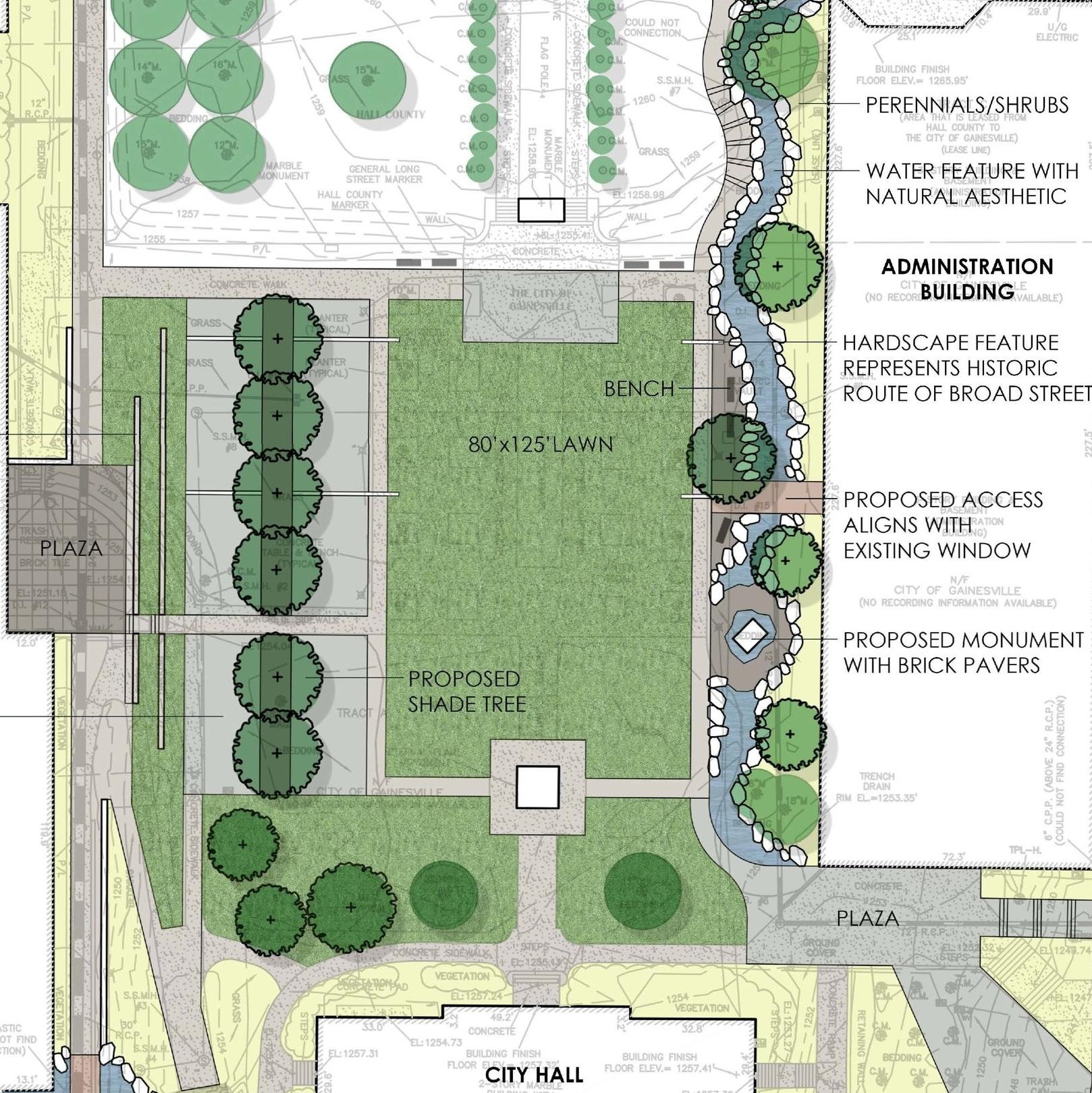 roosevelt square concept plan