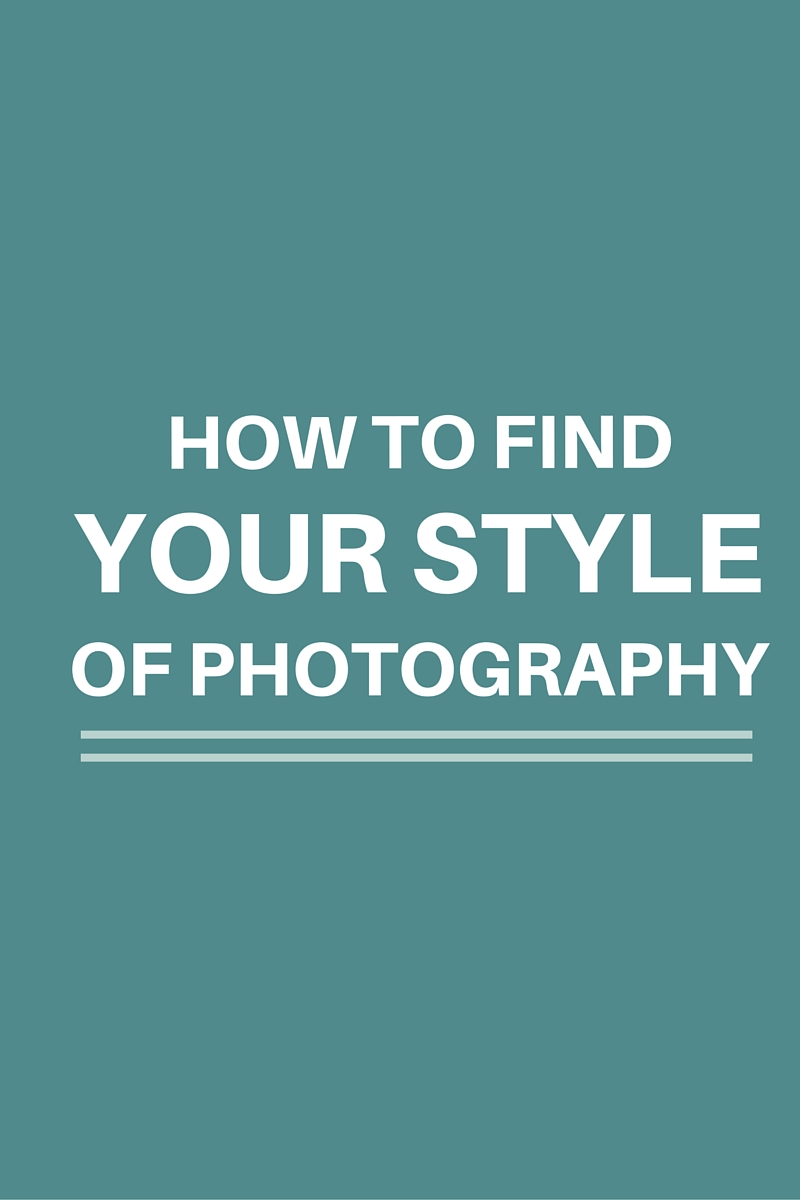 Photography Style