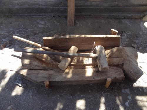 Tío Rey's Canoa and Mazo