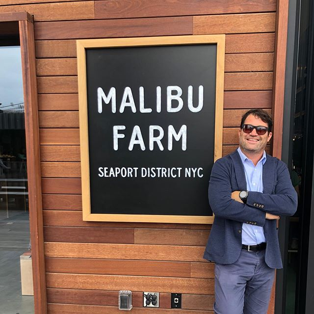 Found Malibu Farm @ South Street Seaport a welcome addition to NYC! Not, the Pacific Ocean view, but NYC's bridges, East River, and Brooklyn are quite beautiful too! #malibufarm #malibufarmnyc #found #getintheloupe #southstreetseaport #pier17