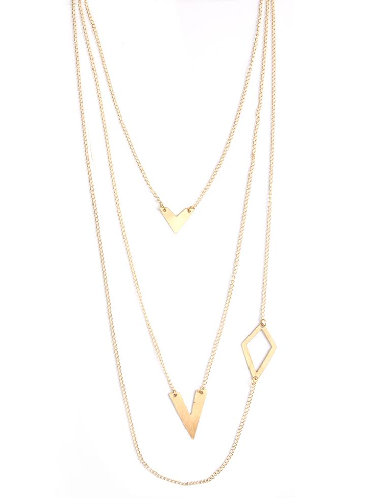 Linked shapes Necklace £21.75