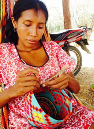 one of the tribal artisans in columbia.jpg