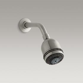 MASTERSHOWER®  2.5 gpm multifunction wall-mount relaxing 3-way showerhead  K-8507-BN