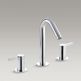 STILLNESS®  Widespread bathroom sink faucet  K-942-4-CP