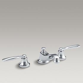 TUXEDO  Basin set with streamline handles by Barbara Barry  P24031-KL-CP