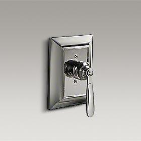 TUXEDO  Pressure balance valve trim with streamline handle by Barbara Barry  P24015-KL-CP