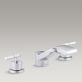 TABORET®  Deck-mount bath faucet trim for high-flow valve  K-T8238-4-CP