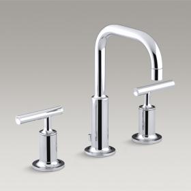 PURIST  Lavatory Faucet, Lever Handles  14406D-4-CP