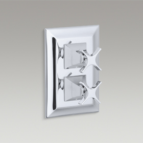 MEMOIRS  Recessed Thermostatic Bath/Shower Trim  K-10422T-3S-CP