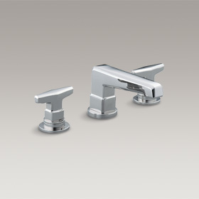 JETON  Basin Set with T handles by Bill Sofield  P24500-TT-CP