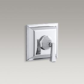 MEMOIRS®  Valve trim with Deco lever handle for Rite-Temp® pressure-balancing valve  K-T463-4V-CP