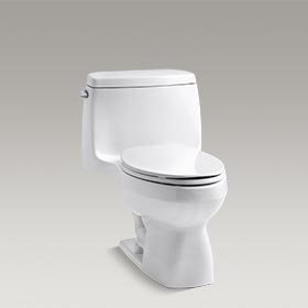 SANTA ROSA™  One-piece compact elongated 1.6 gpf toilet with Ingenium®  K-3323-0