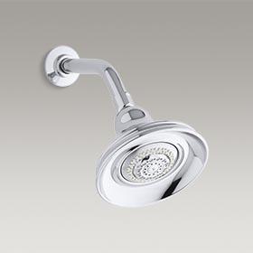 BANCROFT®  2.5 gpm multifunction wall-mount showerhead  K-10591-CP