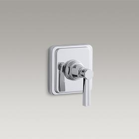 PINSTRIPE®  Valve trim with lever handle for volume control valve  K-T13174-4B-CP
