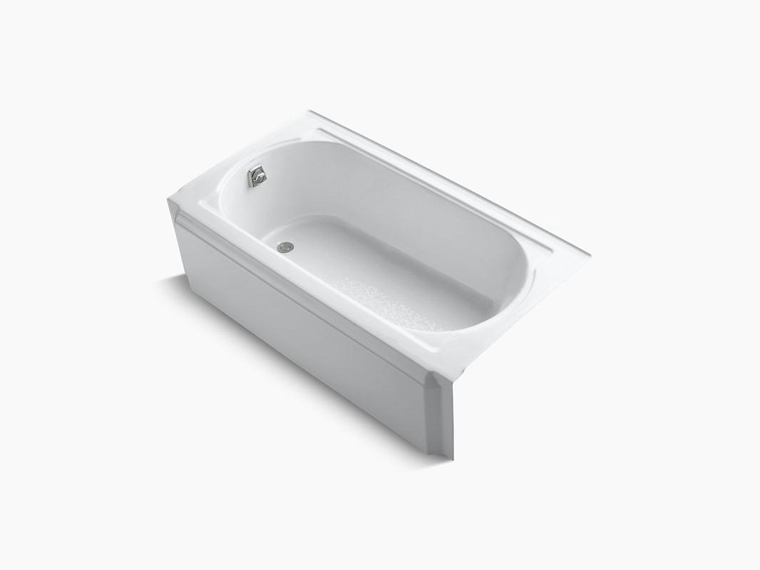 """MEMOIRS®  60"""" X 32"""" Alcove Bath  K-721-0"""