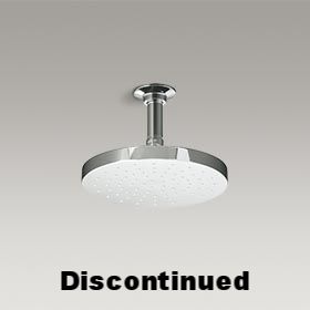 RAIN SHOWERHEAD  Contemporary ceiling-mounted rain showerhead  10121-CP
