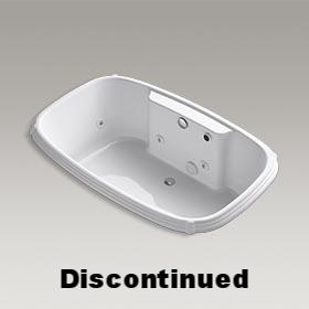 PORTRAIT®  Drop-in whirlpool bath  14577T-0