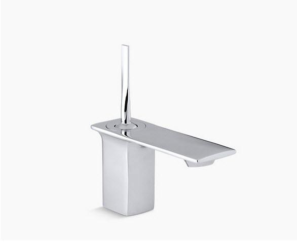 Stance®  Single-hole bathroom sink faucet  K-14760-4-CP