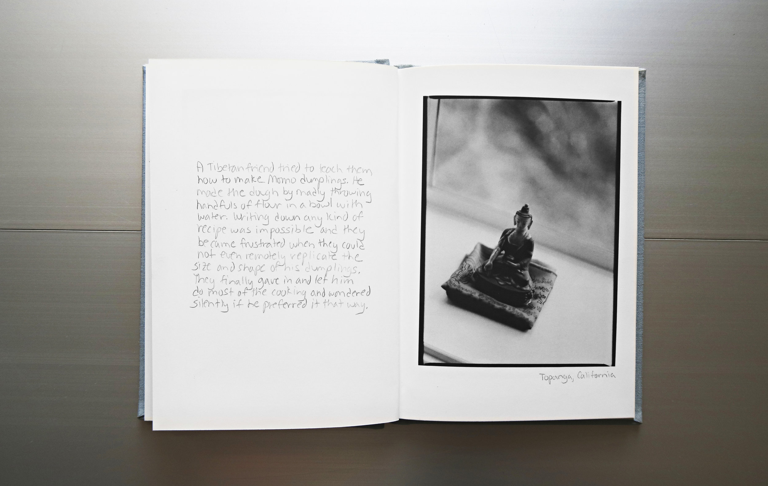 Photography and text by Joanne Dugan  Limited edition hardcover book  For more information and to purchase, please  email  the studio.