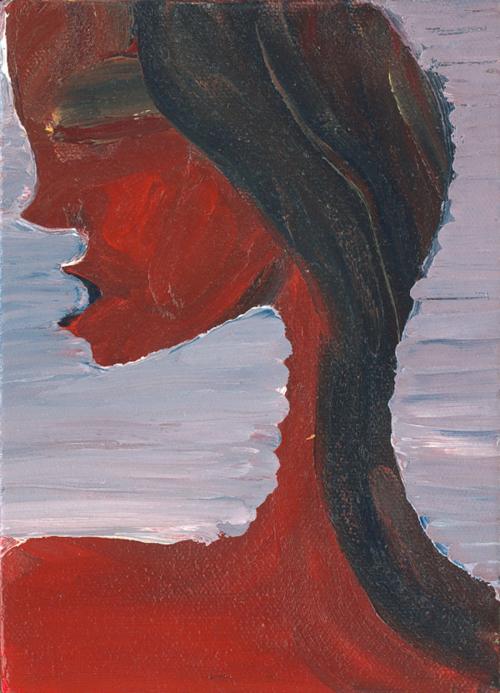 GIrl   2000 acrylic on canvas
