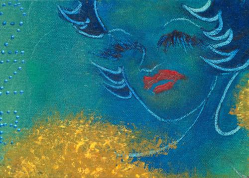 Jazz Bar   2000 acrylic on canvas