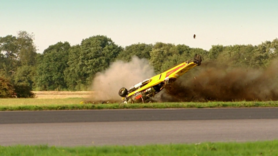 Richard Hammond crash, Vampire jet car 2006, Elvington Airfield