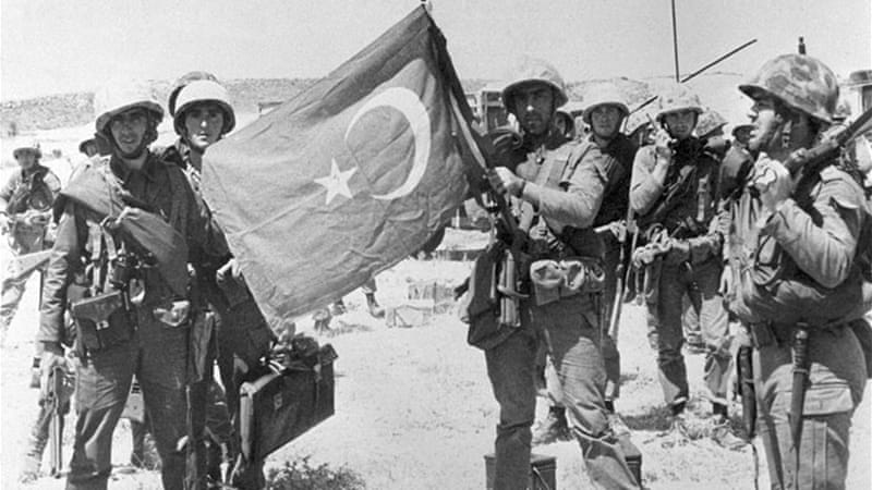 1974, Turkish Army in Cyprus