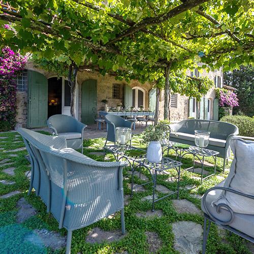 Outdoor Seating Pergola